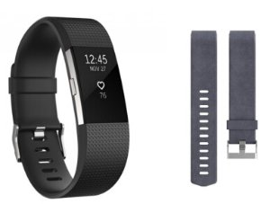$129.99 Fitbit Charge HR 2 Wireless Activity Tracker with Bonus Band Large