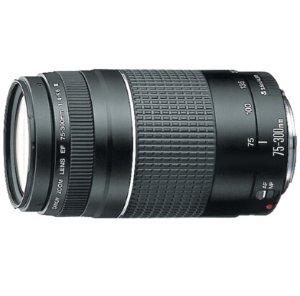 $87Canon EF 75-300mm F4-5.6 III Lens