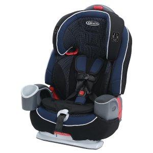 $107.98(原价$169.99) 包邮 大受欢迎的Nautilus新款升级版!Graco Nautilus 65 LX 三合一儿童汽车安全座椅