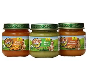 $6.38 Earth's Best Organic Stage 1, My First Veggies Variety Pack, 12 Count, 2.5 Ounce Jars