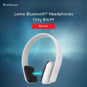 $16.99Leme EB20 蓝牙耳机(原价$39.99)