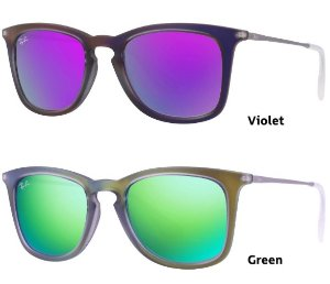 $64Ray-Ban RB4221 Highstreet Sun Collection Mirrored Sunglasses