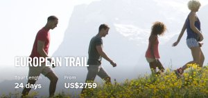 From $275924 Days European Trail