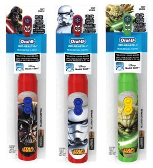 $3.49 Oral-B Pro-Health Disney Star Wars Battery Toothbrush for Kids, Characters/Color May Vary