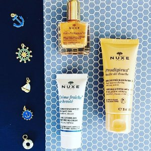 Free Candle + Travel Kit ($20 Value)with Any $70 Order @ Nuxe
