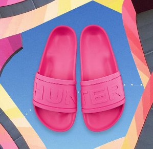 £28- £39(reg.  £55)Hunter Slides @ allsole UK