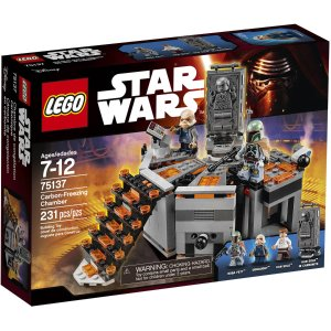 $17 LEGO Star Wars Carbon-Freezing Chamber 75137