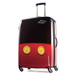 低至6.5折!$75.99起美旅American Tourister官网Disney主题万向轮行李箱促销