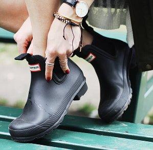 下雨天也美美哒!57英镑起 + 额外85折+包邮Allsole精选英国Hunter雨鞋热卖