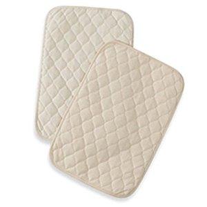 $7.2American Baby Company Baby 防水棉布垫 2张 有机棉材质