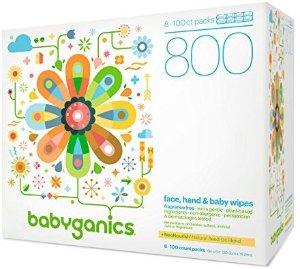 $15.16Babyganics 无香型 婴儿湿巾 800片