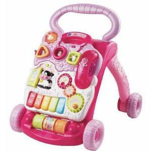 $23VTech Sit-to-Stand Learning Walker Pink