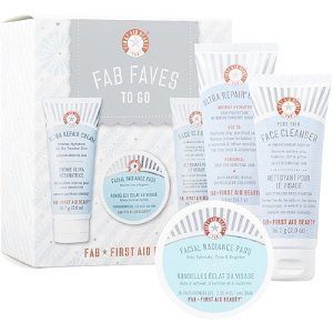 $15First Aid Beauty FAB Faves to Go Kit