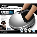 uComfy Shiatsu 2.0 Foot Massager With Heat and Air Compression