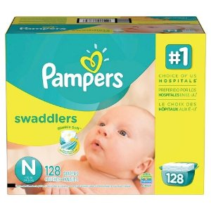 $0.38Pampers Swaddlers Diapers Giant Pack (Select Size) : Target帮宝适尿片
