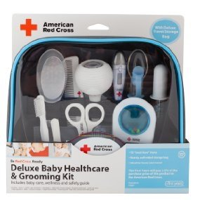 $15The First Years American Red Cross Baby Healthcare And Grooming Kit