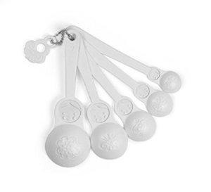 $3Fred M-SPOONS Matryoshka Measuring Spoons, Set of 5