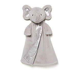 $13Gund Baby Bubbles Elephant Huggybuddy Blanket, Gray, 17