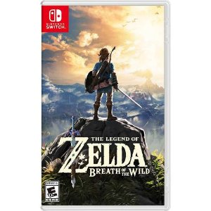 $44.99 or GCU$35.99The Legend of Zelda: Breath of the Wild  Nintendo Switch