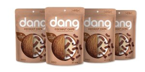 $10.38Dang Gluten Free Toasted Coconut Chips, Chocolate Sea Salt, 2.82oz Bags, 4 Count Bundle