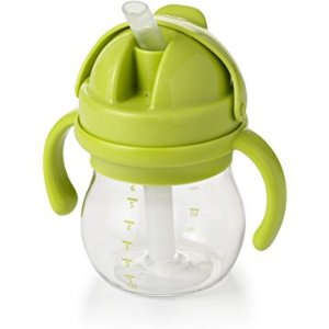 $5OXO Tot Transitions Straw Cup with Removable Handles, 6 Ounce