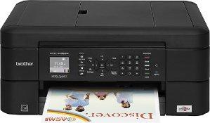 $39.99 (原价$79.99)Brother MFC-J485DW 无线多功能打印机