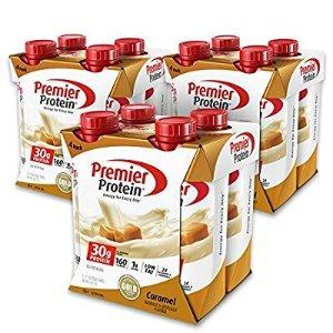$28Premier Protein 30g Protein Shake, Caramel, 12 Count