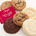 FREECheryl's 6-Cookie Sampler Pack with $10 gift card