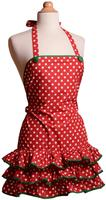 $8.98Apron Holiday 红色围裙