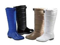 $13Women's Quilted Bad-Weather Boots