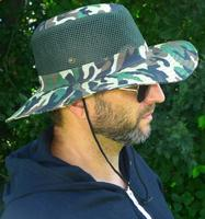 $4Vented Camouflage Hat