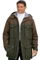 $22Boulder Creek Men's Big & Tall Hooded Parka Jacket