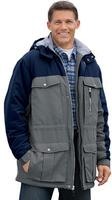 22.49Boulder Creek Men's Big & Tall Hooded Parka Jacket