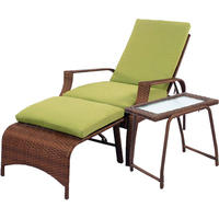 $139Logan 3-Piece Outdoor Patio Wicker Chair Set in Green @ Meijer