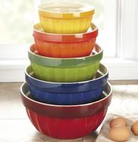 $35CHEFS Stoneware Mixing Bowls