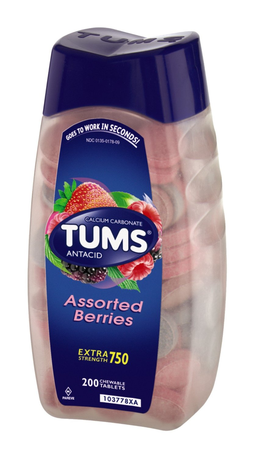 $7Tums Ex  Assorted Berries  200 Count