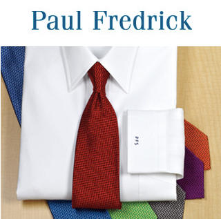 $19.95 (原价 $69.5 - $74.5)Paul Fredrick Pinpoint Oxford衬衫白色款特惠