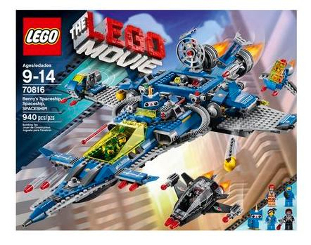 $59LEGO Movie 70816 Benny's Spaceship Building Set