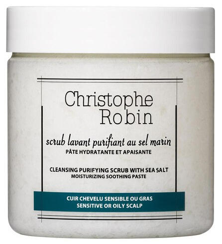 $46CHRISTOPHE ROBIN CLEANSING PURIFYING SCRUB WITH SEA-SALT (250 ML)
