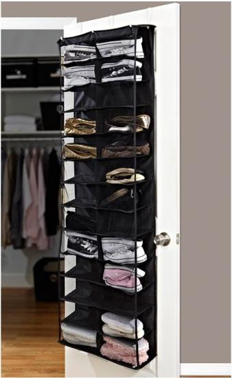 $14Home Collections 26 Pocket Over the Door Shoe Organizer