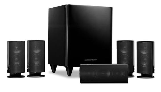 $169.99Refurbished Harman Kardon HKTS 20 5.1-channel, 120 Watt Surround-Sound System