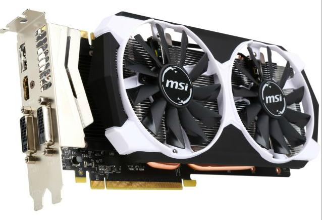 $279 MSI GeForce GTX 970 4GD5T OC