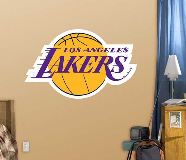 $76Los Angeles Lakers Large Logo 4'2
