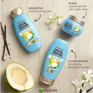 $2.99史低价:五星好评:Garnier 椰子、香草防断发、防掉发保湿发膜