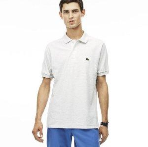 $61.99 (原价$89.5)Lacoste 男款经典版型Polo 15色可选