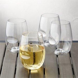 史低价 $4.59(原价$19.95)Govino 防摔红酒杯 4件套