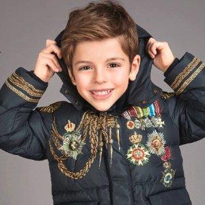 5折+额外8折Dolce & Gabbana 童装特卖