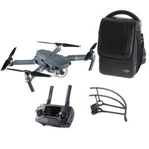 $799DJI Mavic Pro Bundle (Drone, Bag, Props protector, Controller)