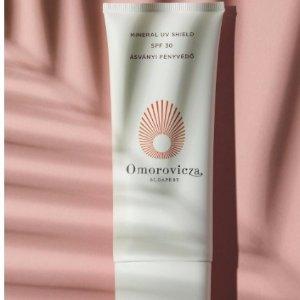 7折+满额送正装皇后水喷雾(价值$90)Omorovicza 官网优惠 匈牙利第一护肤品牌