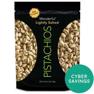 $11.98Wonderful Pistachios, Roasted and Salted, 48-oz Bag